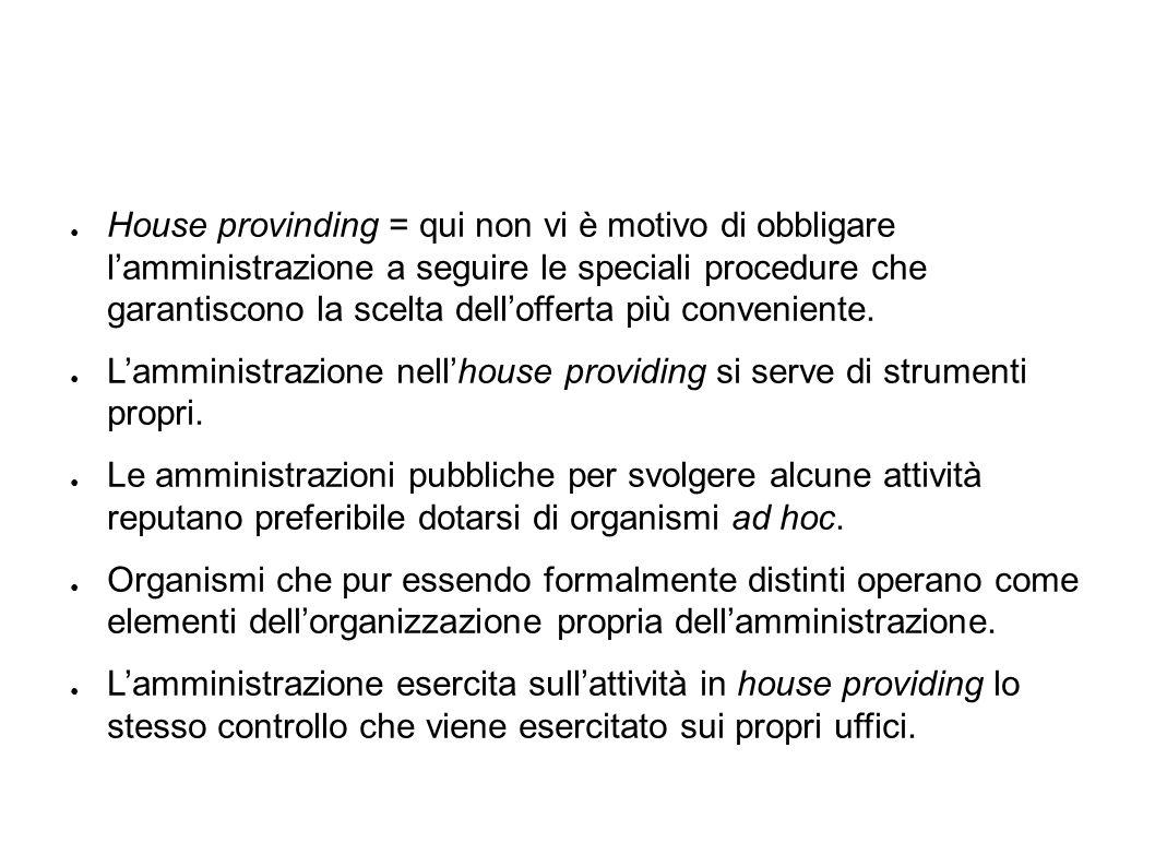 Affidamento diretto da parte della pubblica amministrazione = senza gara.