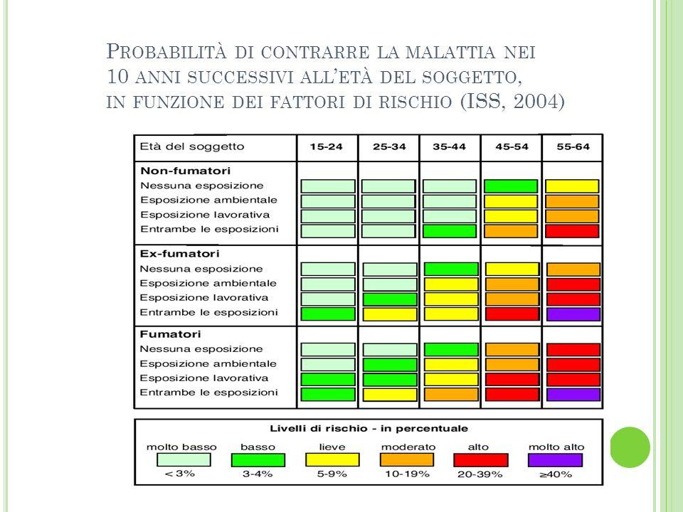 BRONCOPNEUMOPATIE CRONICHE INFORMAZIONE SULLA MALATTIA AZIONE EDUCATIVA NEI RIGUARDI DEL FUMO DI SIGARETTA SVILUPPARE ATTENZIONE PER UN AMBIENTE PIU SANO (BAMBINI) ATTENZIONE VERSO LA SALUBRITA DELLAMBIENTE DI LAVORO EDUCAZIONE DEI SOGGETTI A RISCHIO