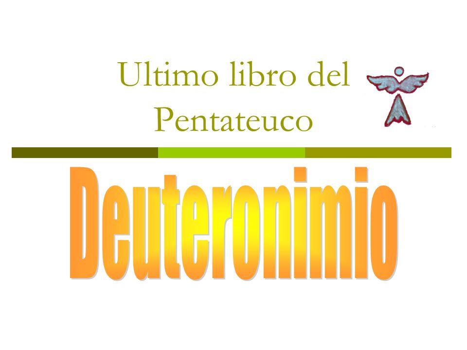 Ultimo libro del Pentateuco