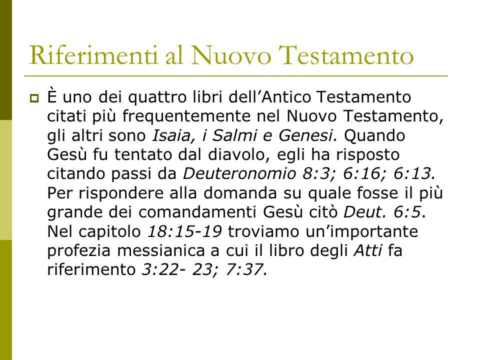 Riferimenti al Nuovo Testamento