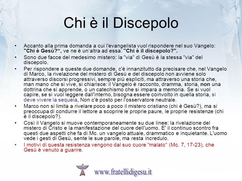 Chi è il Discepolo www.fratellidigesu.it