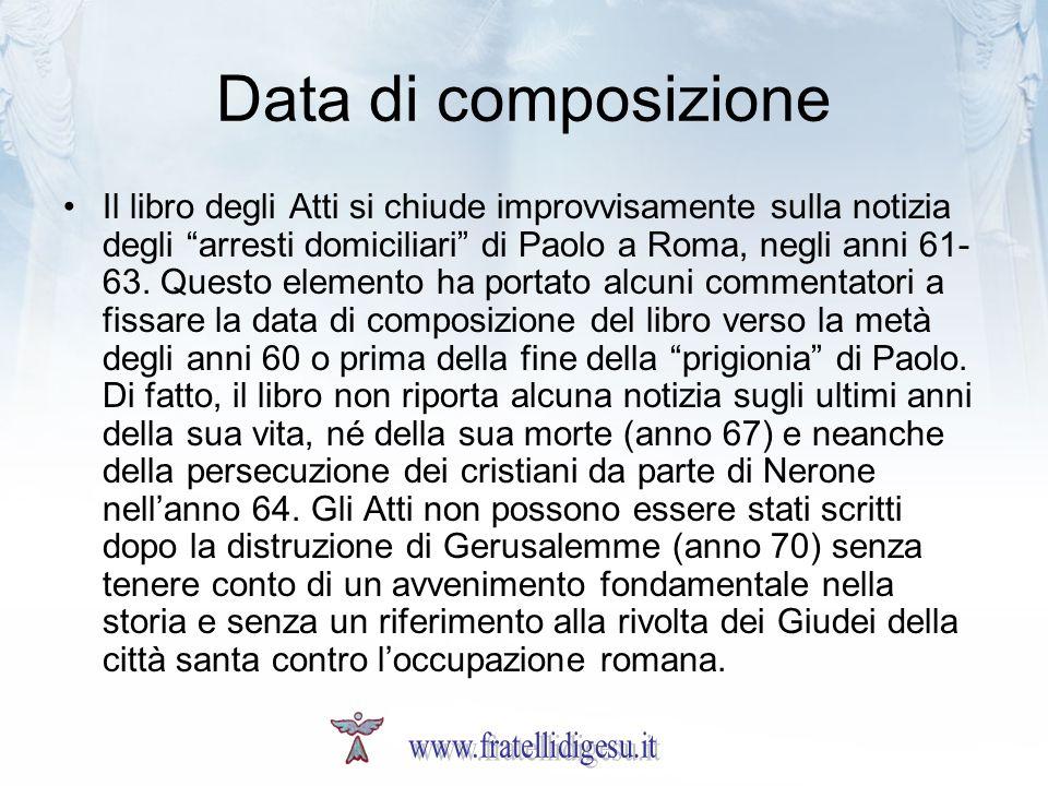 Data di composizione