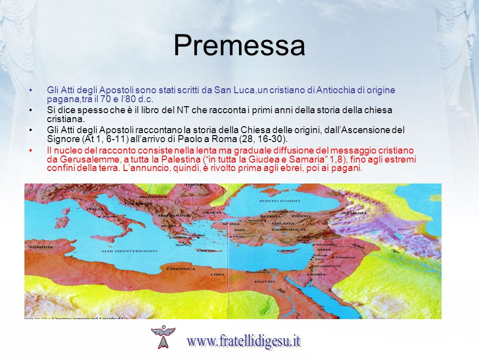 Premessa www.fratellidigesu.it
