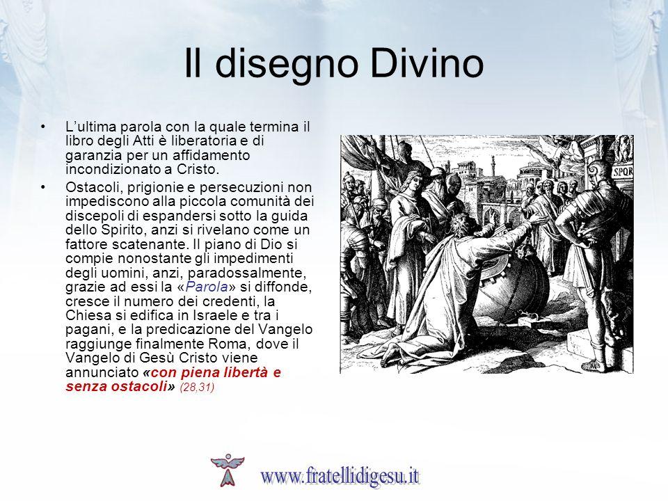 Il disegno Divino www.fratellidigesu.it