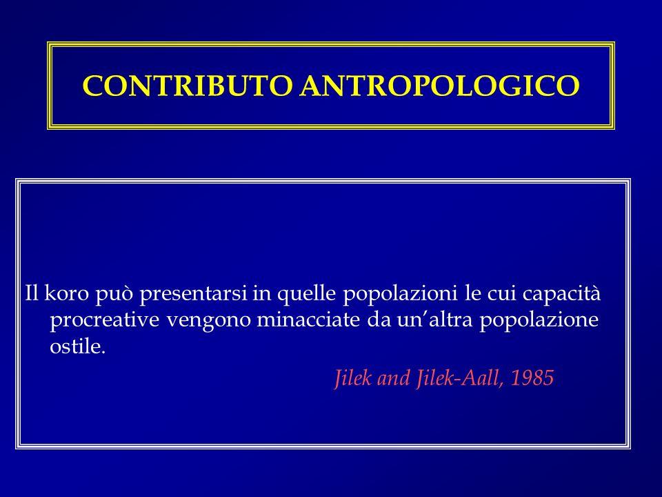 CONTRIBUTO ANTROPOLOGICO