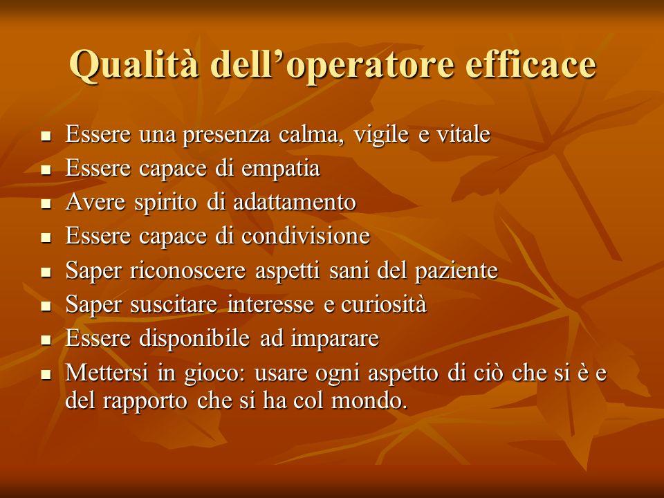 Qualità dell'operatore efficace