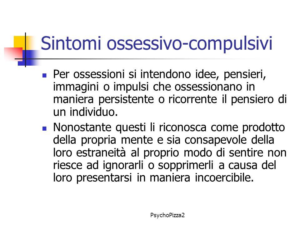 Sintomi ossessivo-compulsivi