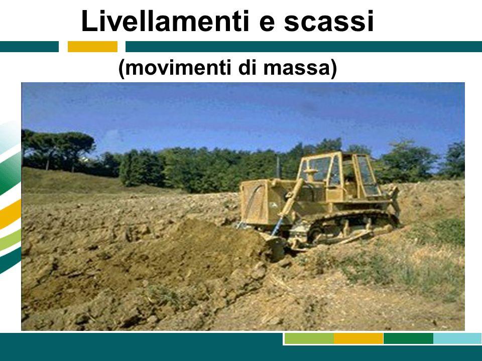 Livellamenti e scassi (movimenti di massa) 14