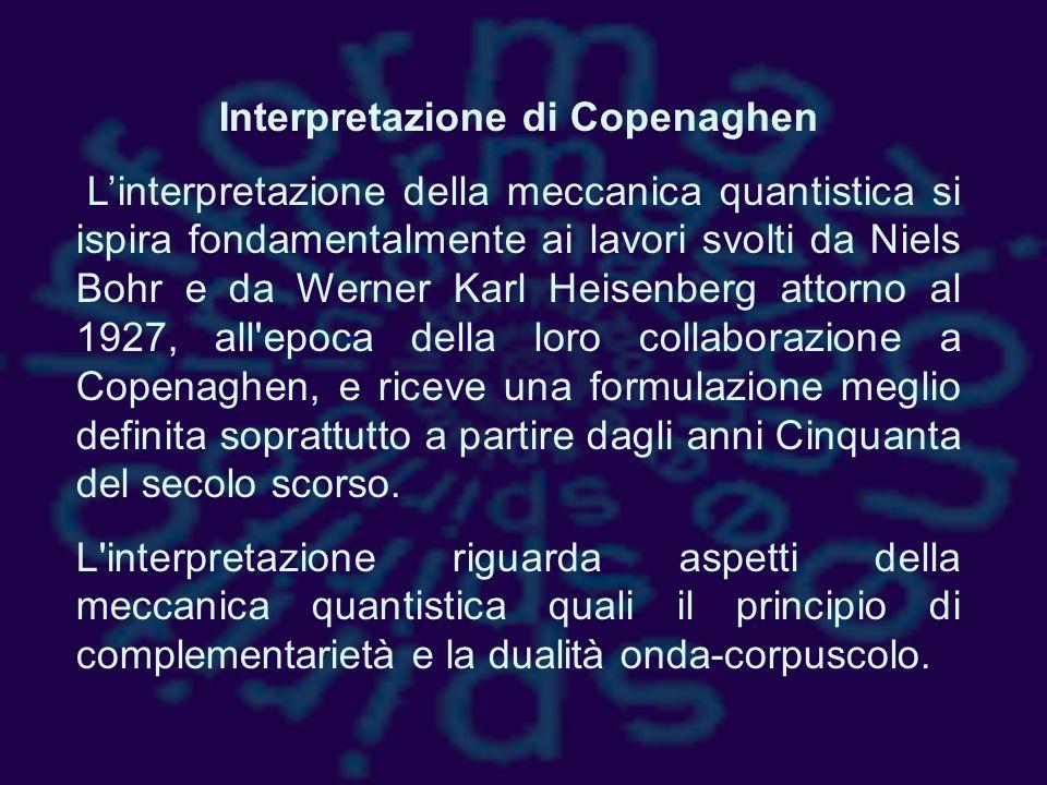 Interpretazione di Copenaghen