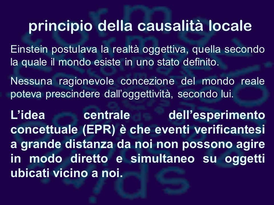 principio della causalità locale