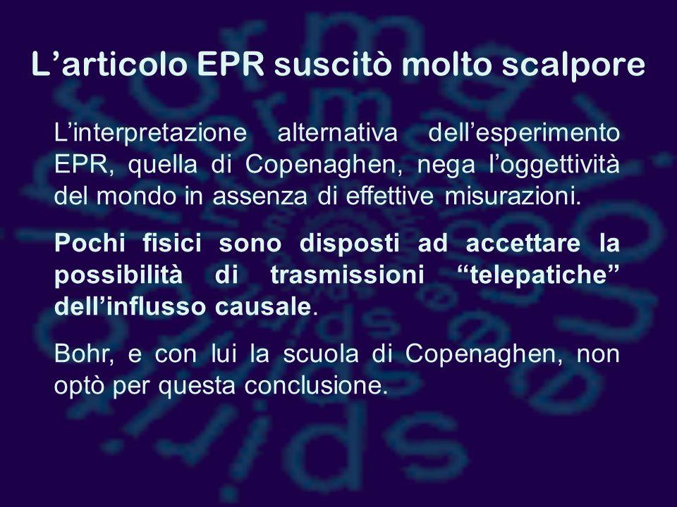 L'articolo EPR suscitò molto scalpore