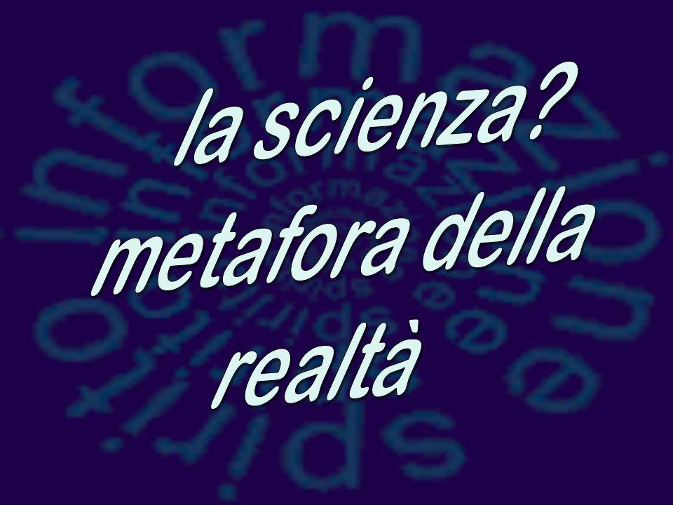la scienza metafora della realtà