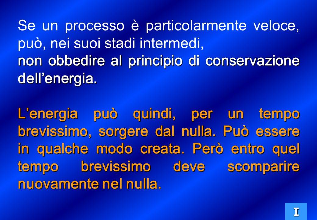 non obbedire al principio di conservazione dell'energia.