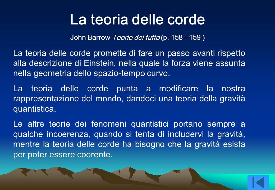 John Barrow Teorie del tutto (p. 158 - 159 )