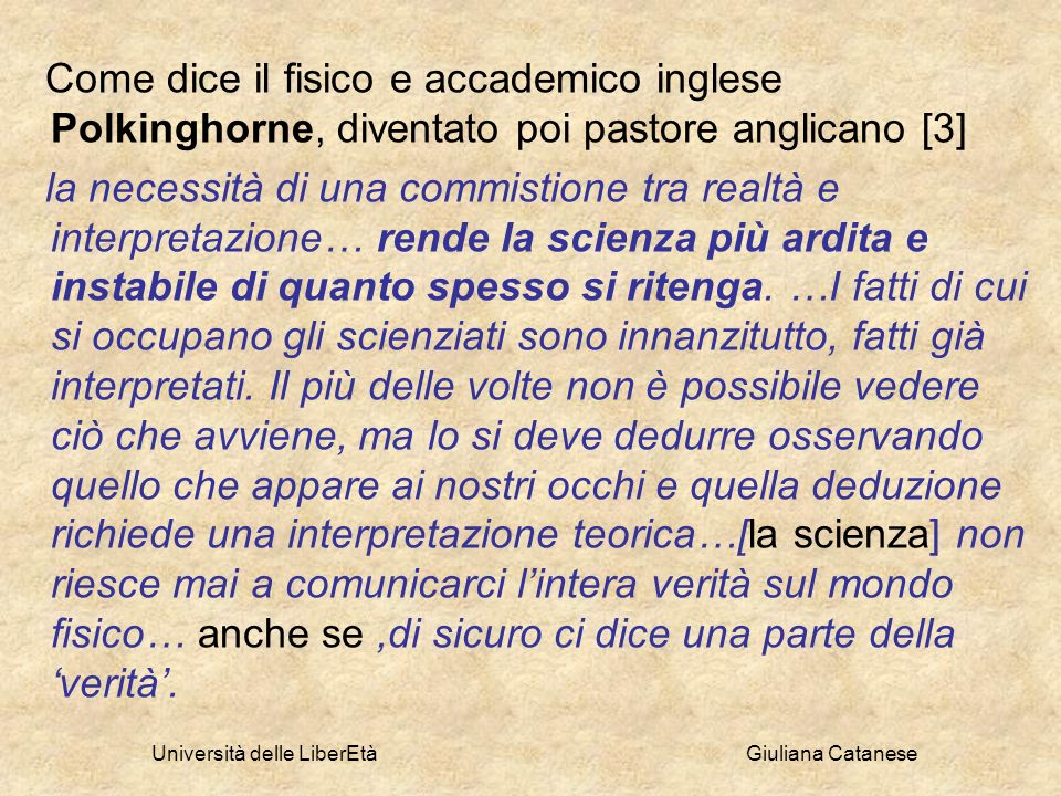 Università delle LiberEtà Giuliana Catanese