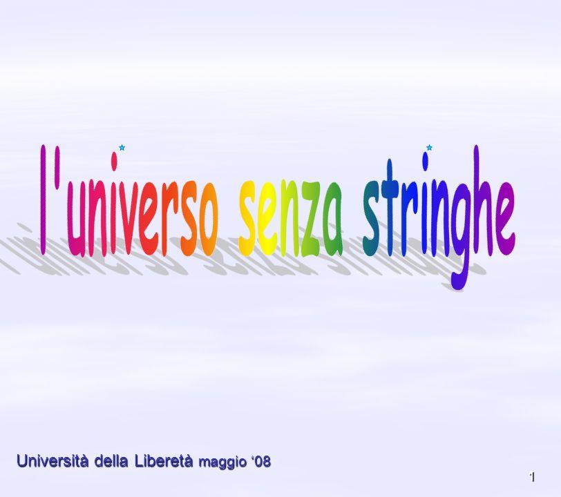 l universo senza stringhe