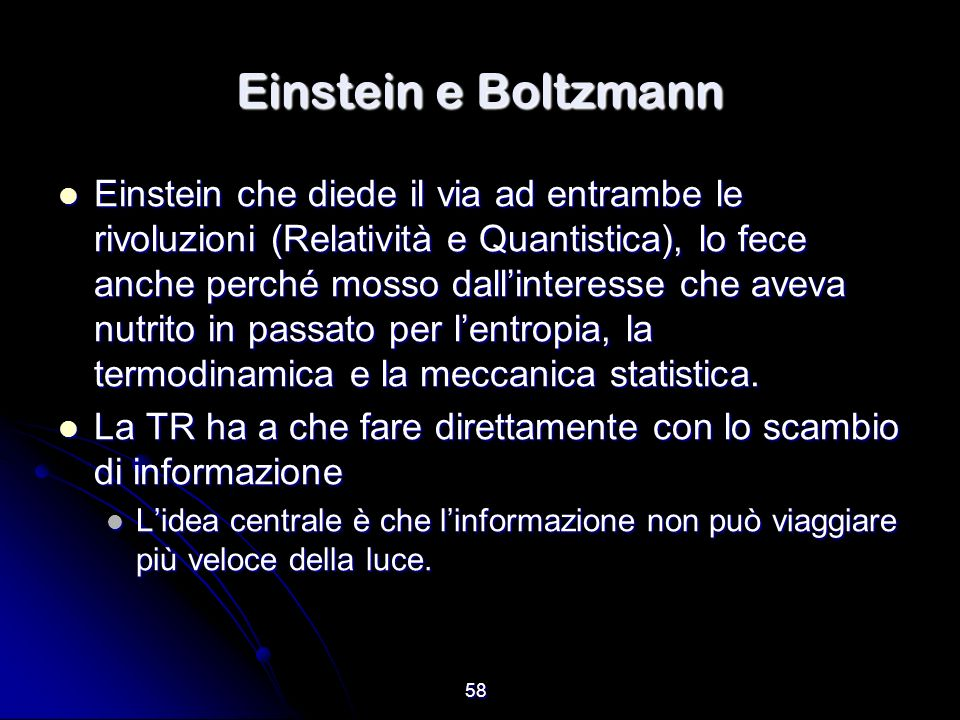 Einstein e Boltzmann