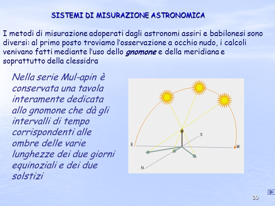 SISTEMI DI MISURAZIONE ASTRONOMICA