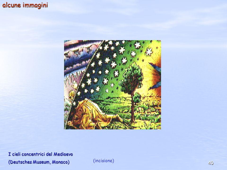 alcune immagini I cieli concentrici del Medioevo