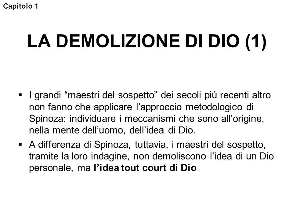 LA DEMOLIZIONE DI DIO (1)