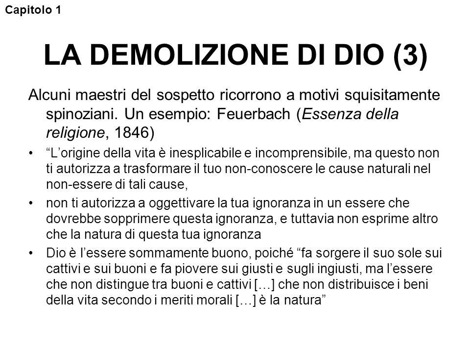 LA DEMOLIZIONE DI DIO (3)