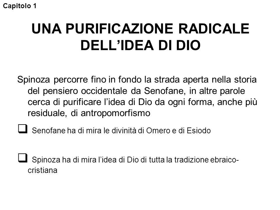 UNA PURIFICAZIONE RADICALE DELL'IDEA DI DIO