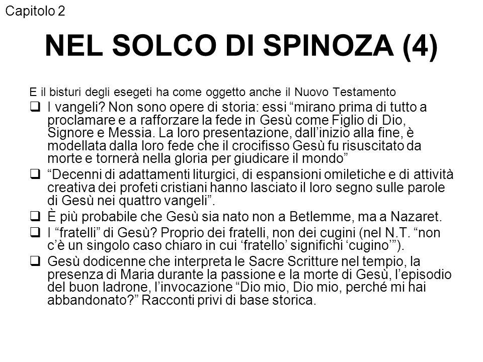 NEL SOLCO DI SPINOZA (4) Capitolo 2