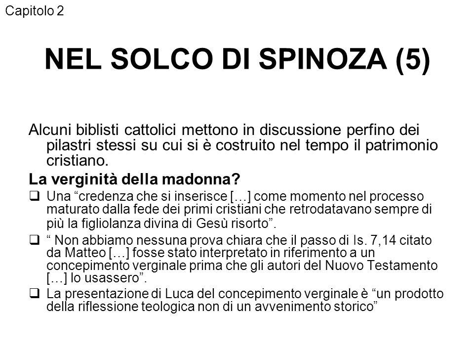 Capitolo 2 NEL SOLCO DI SPINOZA (5)