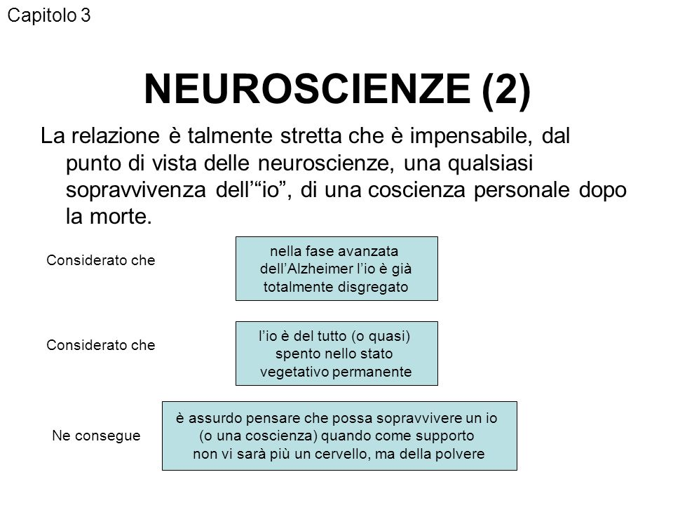Capitolo 3 NEUROSCIENZE (2)
