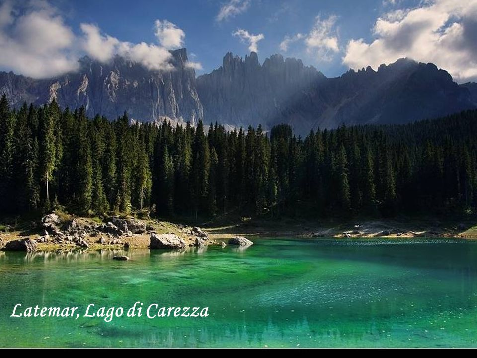 Latemar, Lago di Carezza