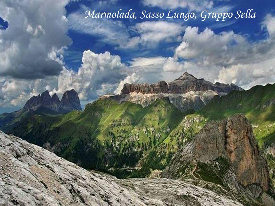 Marmolada, Sasso Lungo, Gruppo Sella
