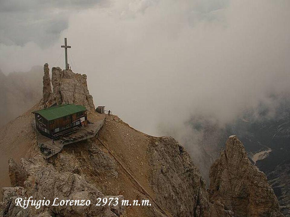 Rifugio Lorenzo 2973 m.n.m.