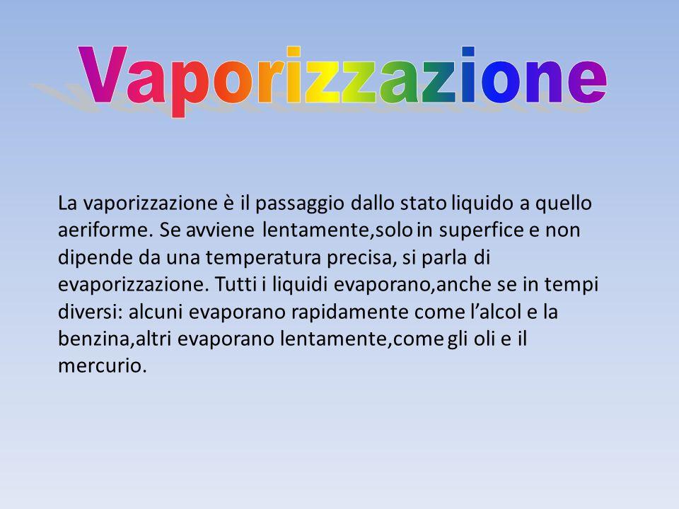 Vaporizzazione