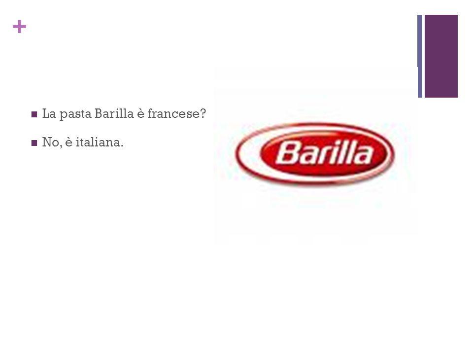 La pasta Barilla è francese