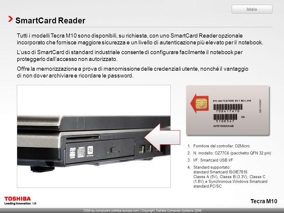 Inizio SmartCard Reader.