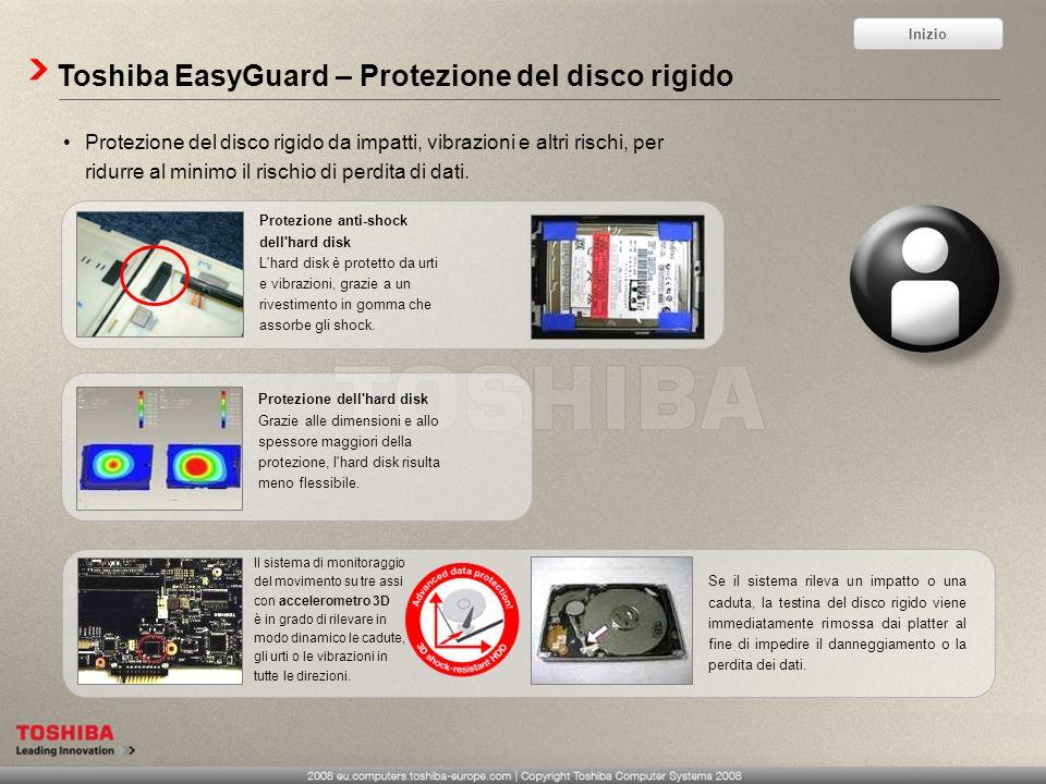 Toshiba EasyGuard – Protezione del disco rigido