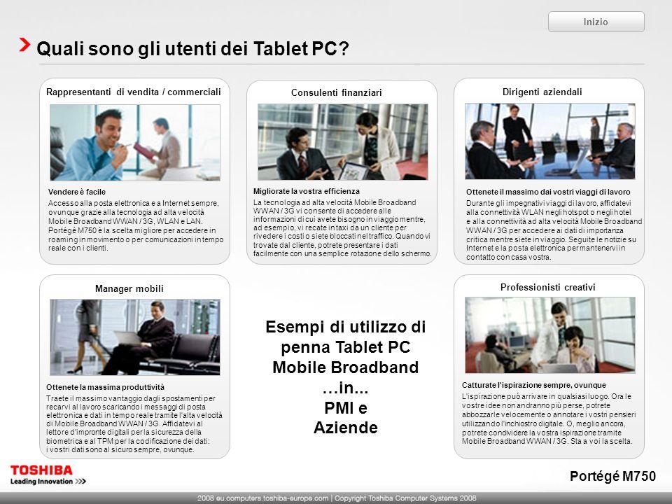 Quali sono gli utenti dei Tablet PC