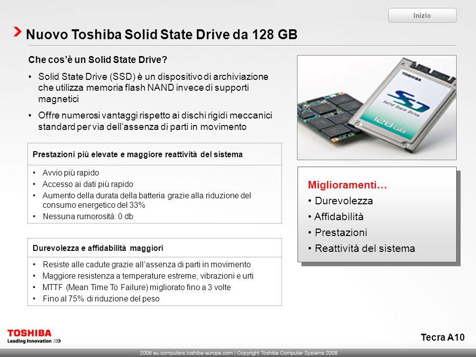 Nuovo Toshiba Solid State Drive da 128 GB