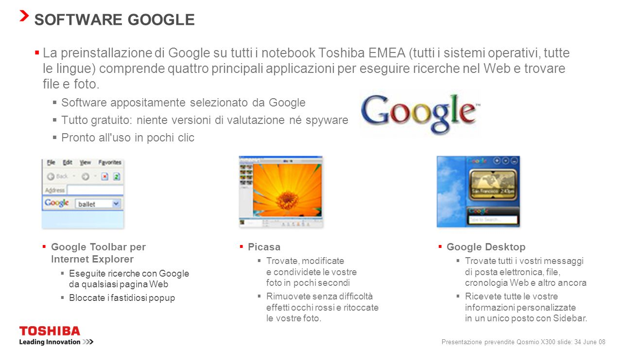 SOFTWARE GOOGLE
