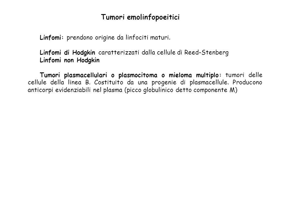Tumori emolinfopoeitici