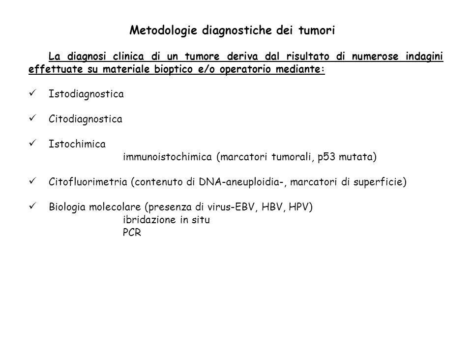 Metodologie diagnostiche dei tumori