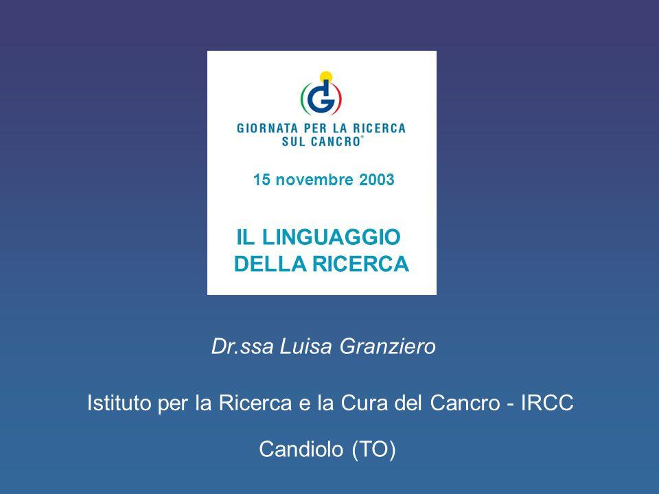 Istituto per la Ricerca e la Cura del Cancro - IRCC