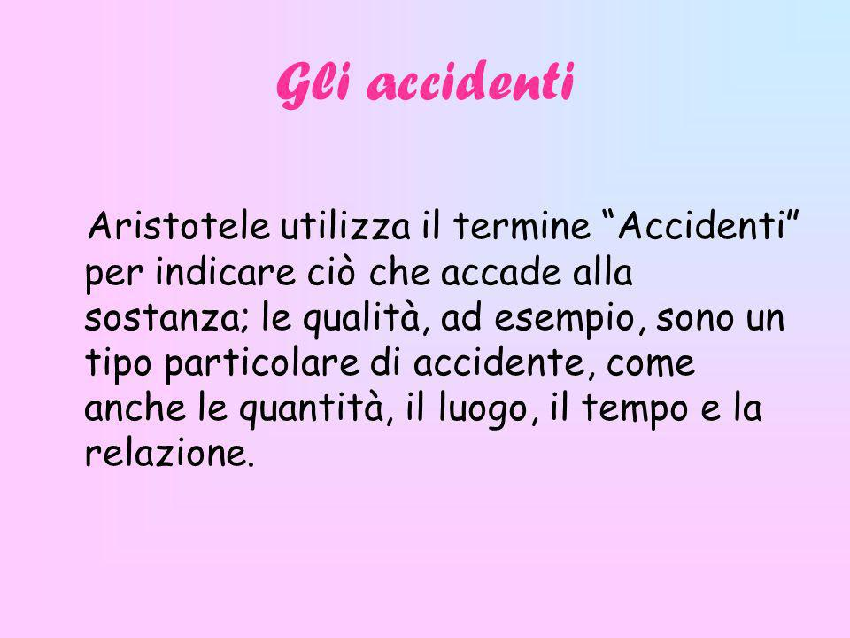 Gli accidenti
