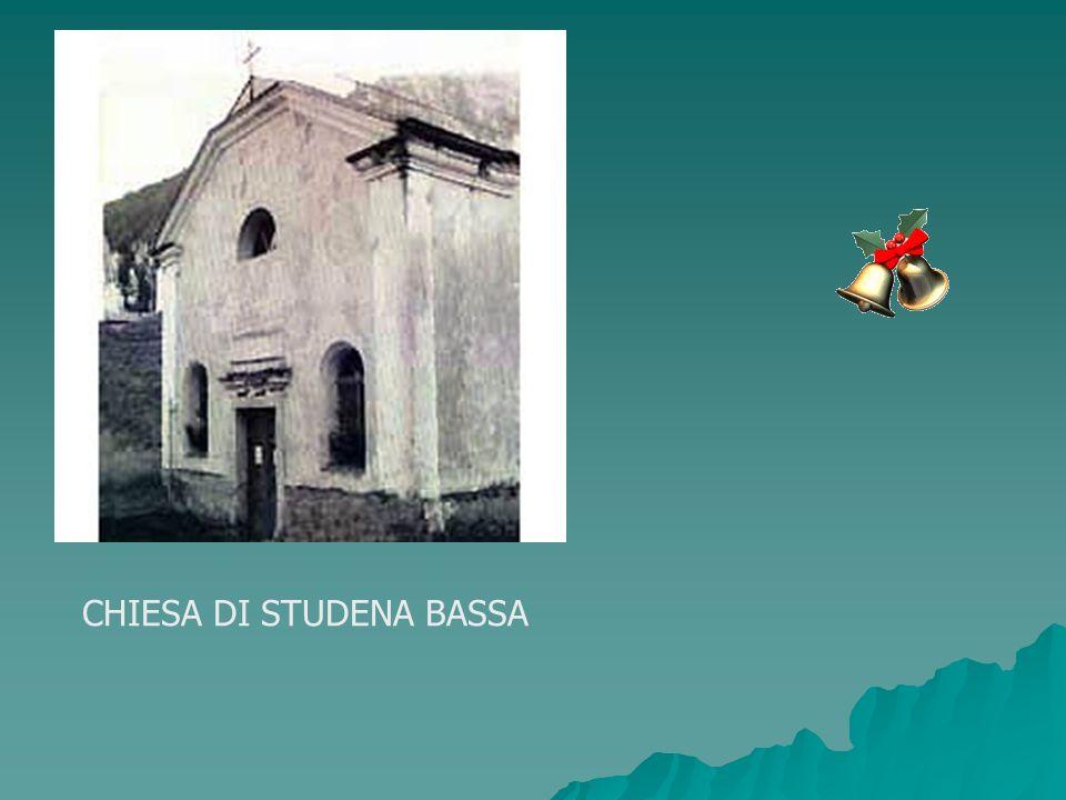 CHIESA DI STUDENA BASSA
