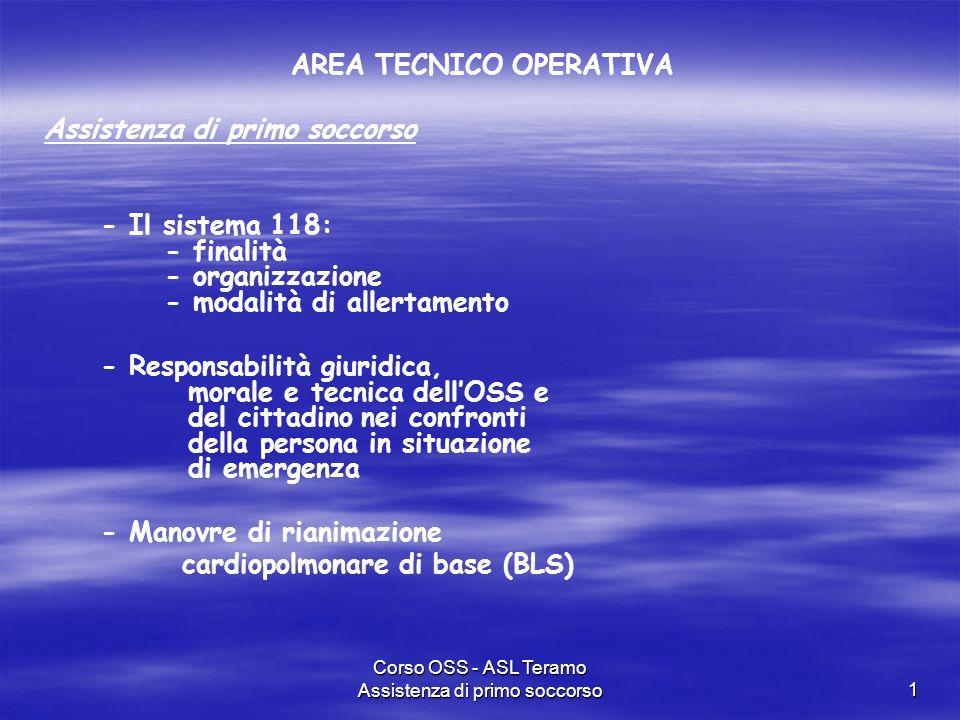 AREA TECNICO OPERATIVA