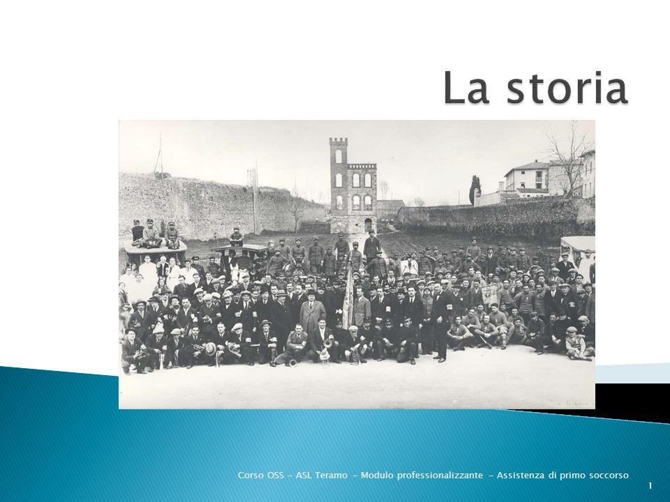 La storia Corso OSS - ASL Teramo - Modulo professionalizzante - Assistenza di primo soccorso