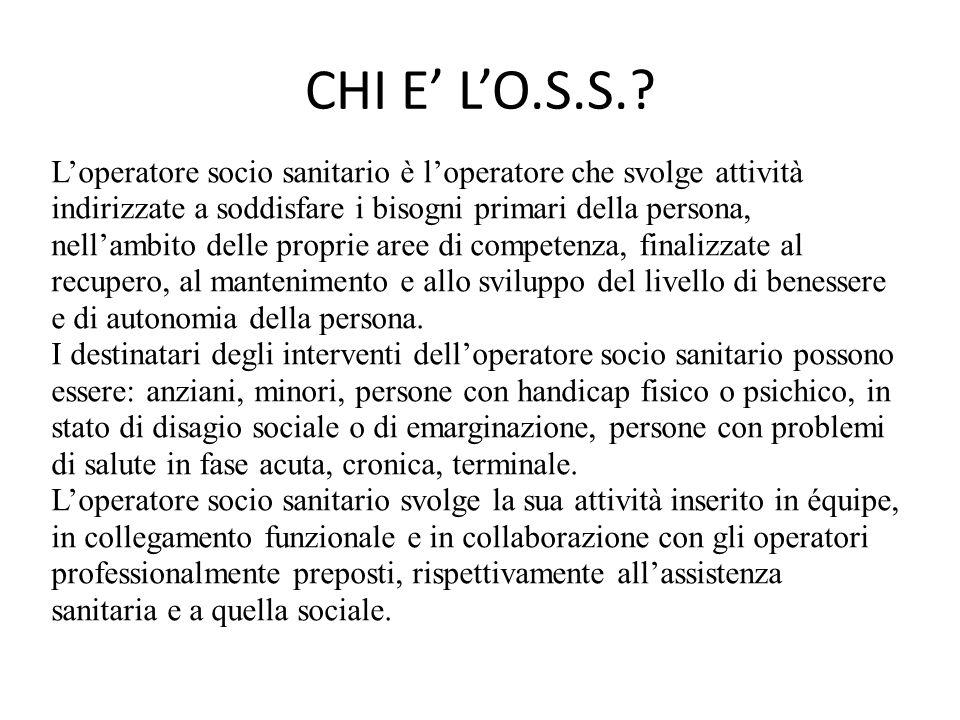 CHI E' L'O.S.S.
