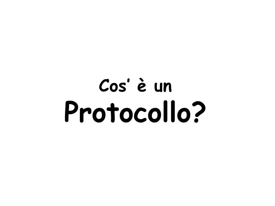 Cos' è un Protocollo