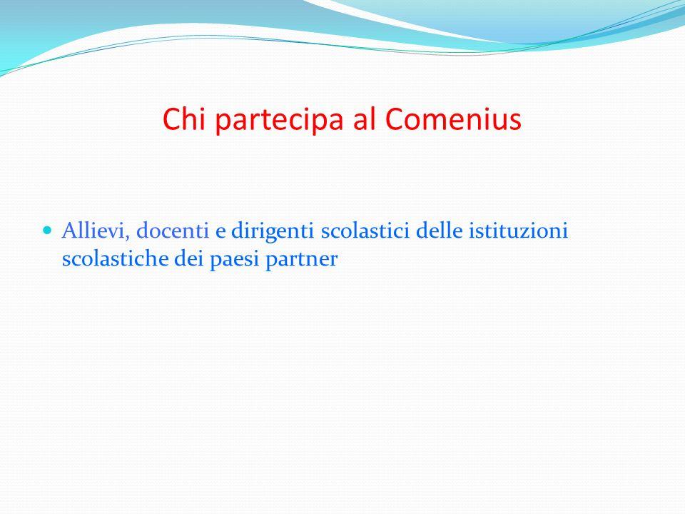 Chi partecipa al Comenius