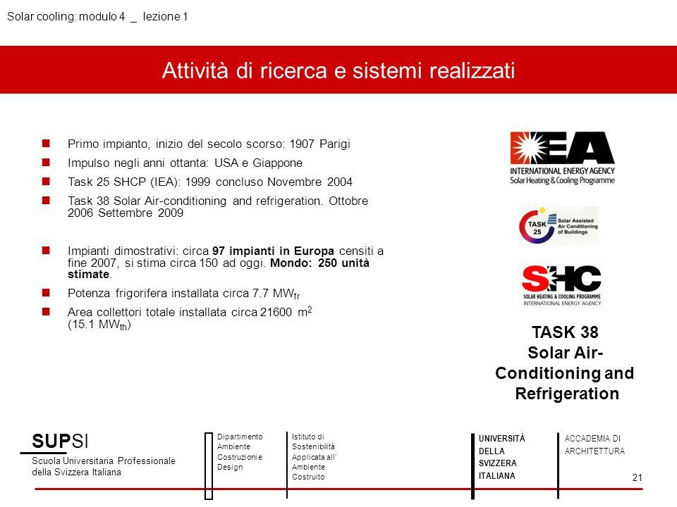 Attività di ricerca e sistemi realizzati